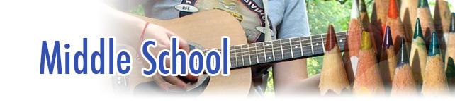 Middle School Header Image